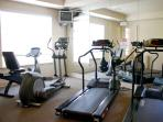 Free use of fitness center