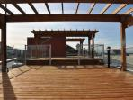 Roof top deck with 360 degree views of the city, mountains and ocean
