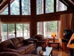 Relax in this classic Chalet style cabin walking distance from Fly-In Lake!