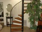 Stairway to Master Guest Room