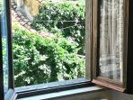 Dalla finestra della camera matrimoniale