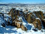 Guadix sous la neige
