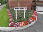 Dray Mews Entrance