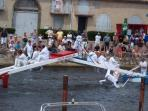 Jousting in the Port held in July and August