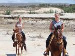 Horses available for riding with 24 hours notice.