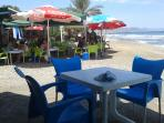beach bars at calnegre