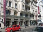 Musical Theater an der Wien  across the street