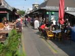 Famous Naschmarkt - just across the street !