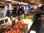 Naschmarkt  - across the street !