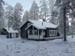 Sini Kiiruna in early winter