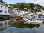 Early evening stroll before dinner at one of many great restaurants - Perfect Polperro