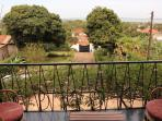 Balcony view of L.Victoria/Entebbe International airport.
