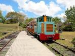 Musée de la canne ,le petit train