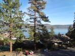 Striking lake views