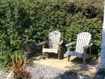 Secluded corners for soaking up the sunshine