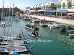 Sailing schools & dive schools are based at the Marina alongside companies offering leisure cruises