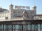 Brighton Pier - a must on any visit to Brighton.