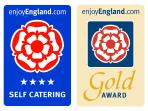 We are proud of our 4* Gold Award from Enjoy England.