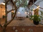 Ambassador's House - Courtyard at dusk