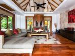 Baan Surin Sawan - Living room sofas