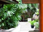 Baan Surin Sawan - External garden