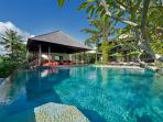 Bendega Nui - Pool view to outdoor to outdoor living bale