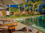 The Istana - Night over pool