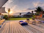 Majapahit Villas - Villa Maya - Deck event space