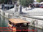 Ljubljanica river near New square