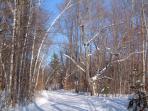 Le pac de la Gatineau en hiver