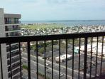 View from the 2nd bedroom, overlooking the bay, southside