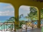 patio view facing the ocean