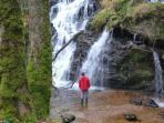 Waterfall short walk from Rhumhor