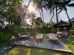 Majapahit - Villa Raj - Beach deck