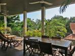 Outdoor Dining On Spacious Terrace