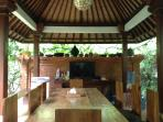 Dining area in the main family compound