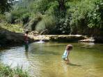 Retenue d'eau naturelle