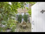 Private courtyard Garden and own front door