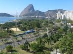 Bilding in front of Praia do Flamengo