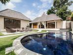 The Pool (Second Three Bedroom Villa)