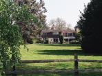 Brampton apartment rental - Brampton House Rear view and private gardens