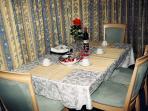 Brampton apartment rental - Breakfast & Dining area