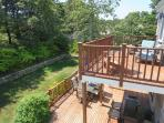 2nd Floor Balcony - 93 Bucks Creek Road Chatham Cape Cod New England Vacation Rentals