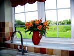 Harvest Moon Barn Kitchen Window