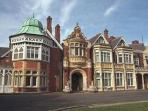 Bletchley Park - 20minutes away by car