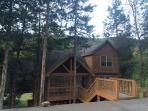 Little Creek Lodge-- Your home away from home! Rustic beauty in a quiet country setting.
