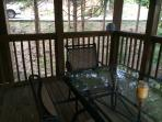 Screened porch-- Love it!