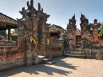 Seseh Beach Villa I - The local temple