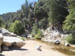 Just 20 minutes from our house - Deep Creek is remote and pure water
