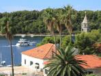 Cavtat bay views from the sunroof terrace